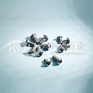 In KR006-ISO7380/GB70.2 half hexagonal screw