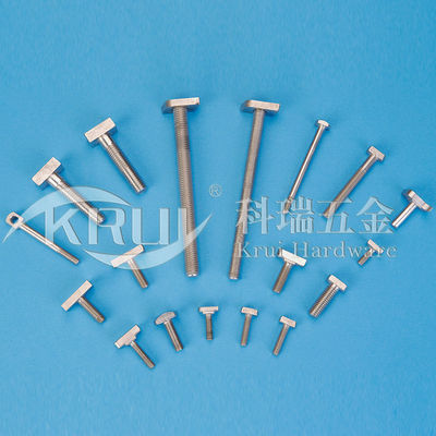 The non-sign has custom-made--Stainless steel T screw